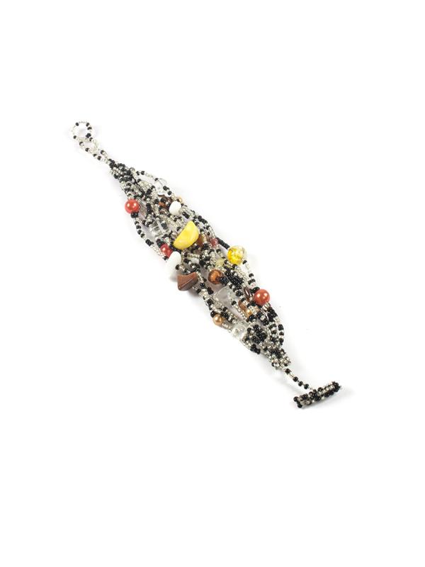 Bohemian style kralen armband